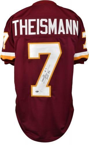 8f30b38d2 Joe Theismann Signed Custom Jersey with
