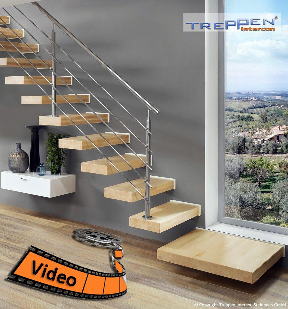 Innentreppen Günstig kragstufentreppen hier günstiger online kaufen - treppen intercon