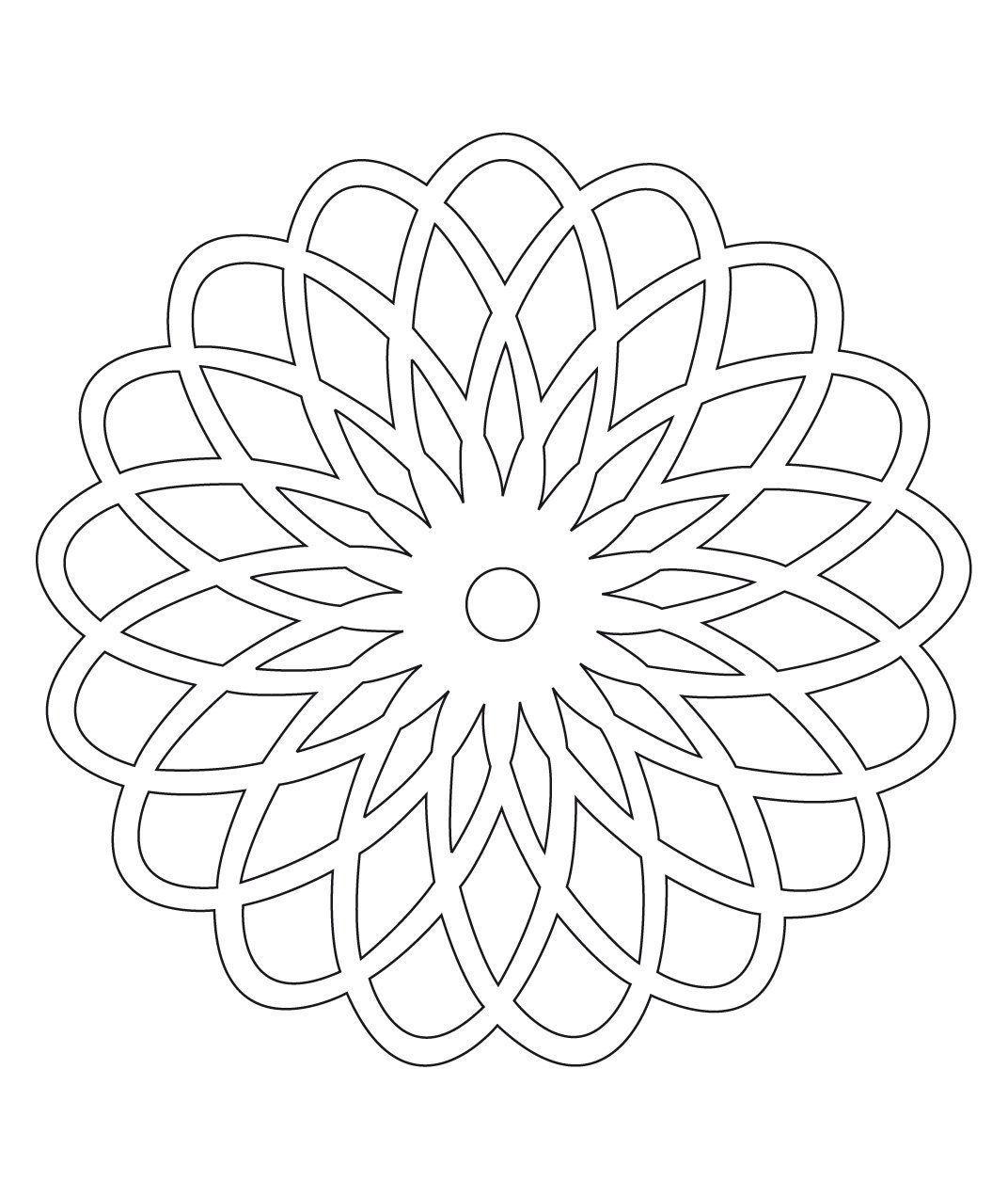 Stci coloriage pour adultes et enfants mandalas templates patterns mandala painting - Mandala adulte ...