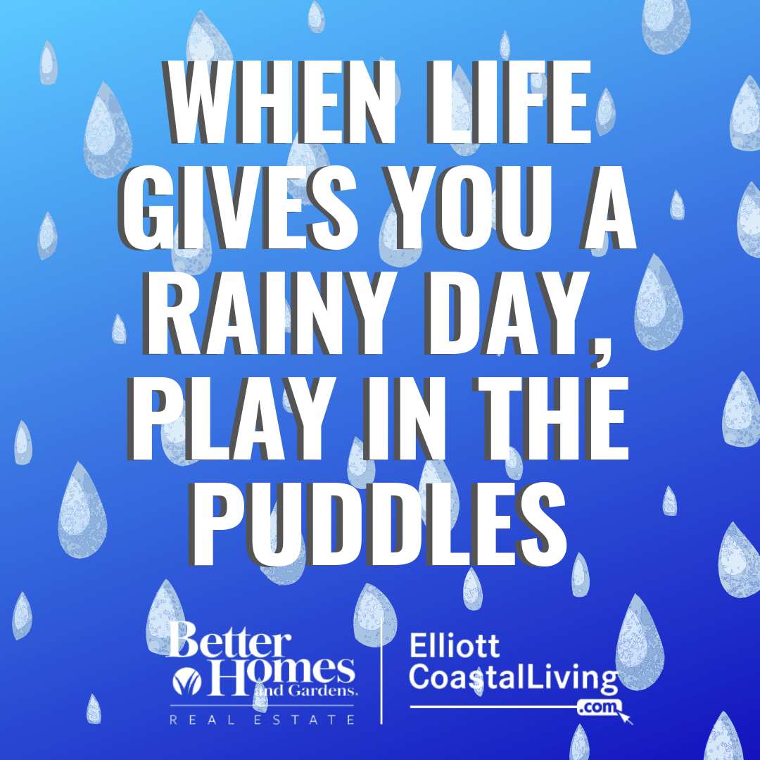 ️Just because it's a rainy day does not mean you can't