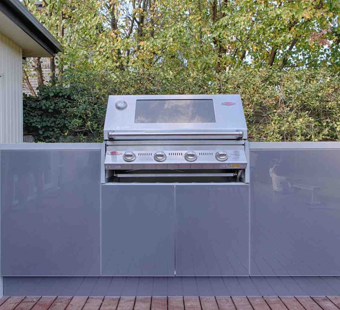 Outdoor BBQ Cabinets