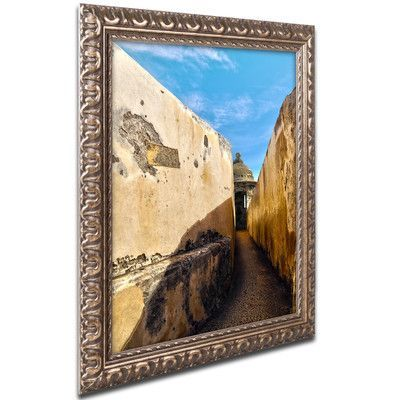 "World Menagerie Castillo San Felipe del Morro 14 Framed Photographic Print Size: 20"" H x 16"" W x 0.5"" D"