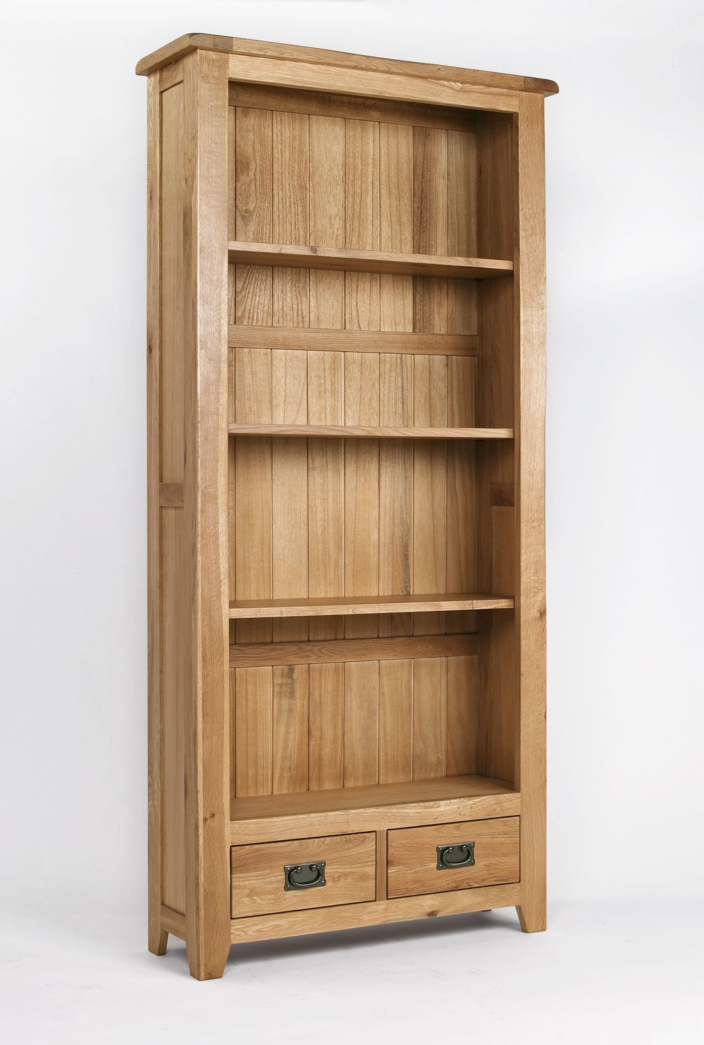 Wooden Bookcases Add Classic Aura To Your Home Tall Bookcases Oak Bookcase Wooden Bookcase