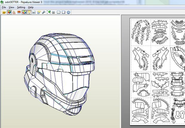 Halo ODST Armor: Helmet - Part of ODST Armor | Projects to