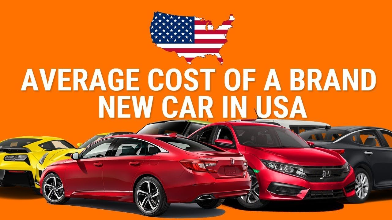 Average Cost Of Ing A New Car In America