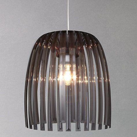 Koziol Hanglamp Josephine M.Buy Koziol Josephine Pendant Smoked Online At John Lewis Lighting