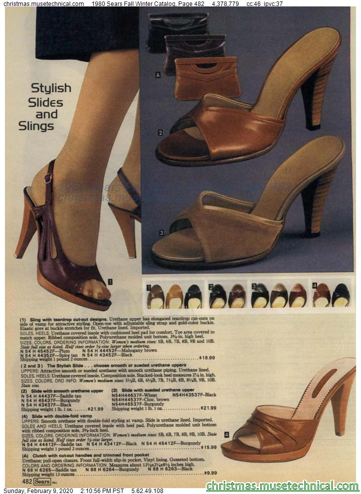 1980 Sears Fall Winter Catalog Page 482 Christmas Catalogs Holiday Wishbooks In 2020 Vintage High Heels Fall Winter Christmas Catalogs