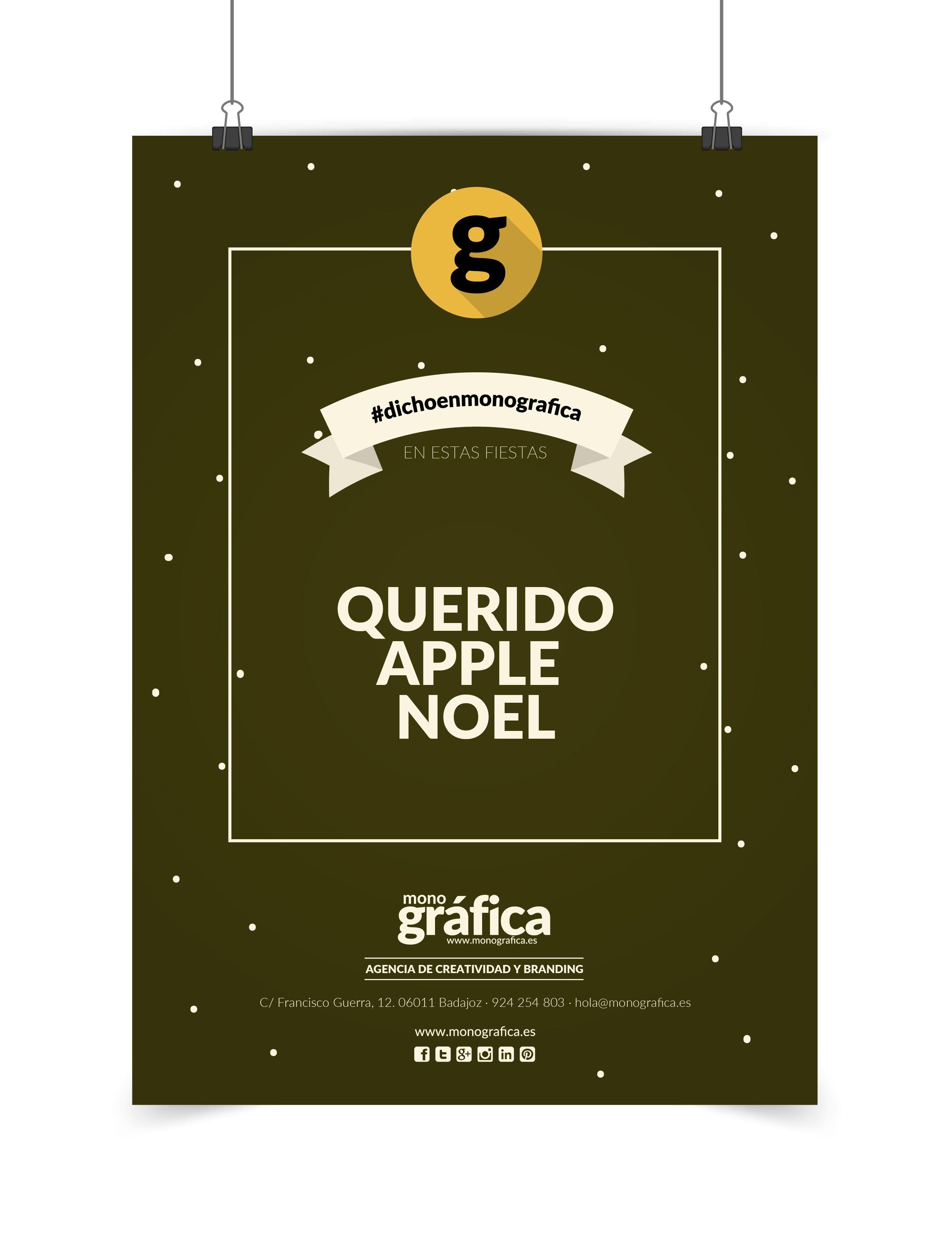 Navidad en MonoGráfica www.monografica.es #diseño #creatividad #publicidad #branding #graphicdesign #corporative #agency #navidad #christmas