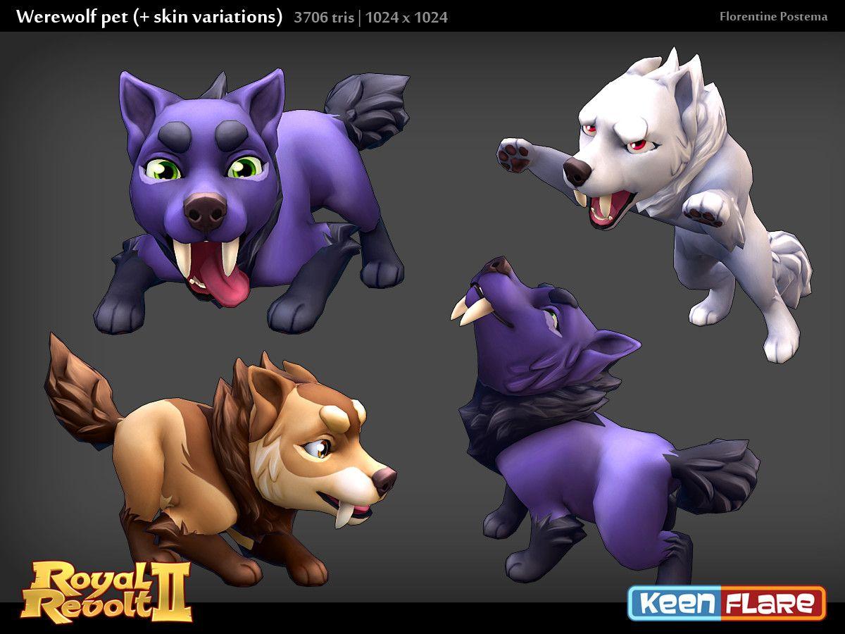 Artstation Royal Revolt 2 Character Werewolf Pal Florentine Postema Revolt 2 Werewolf Pals