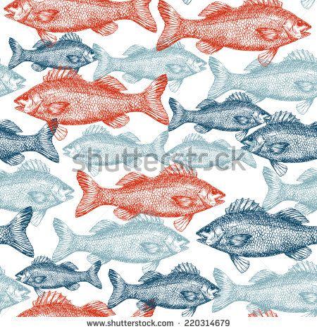 Old Engraving Fish Fotos, imágenes y retratos en stock | Shutterstock