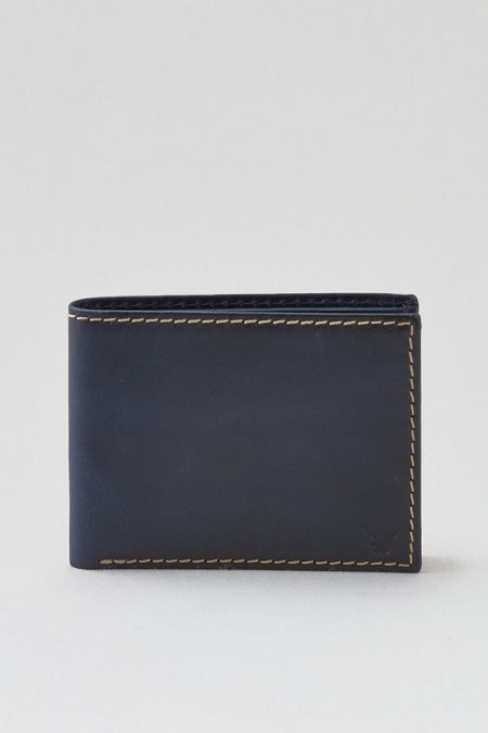 27a9250aaf7a American Eagle Outfitters AE Bifold Leather Wallet | Men's Wallets ...