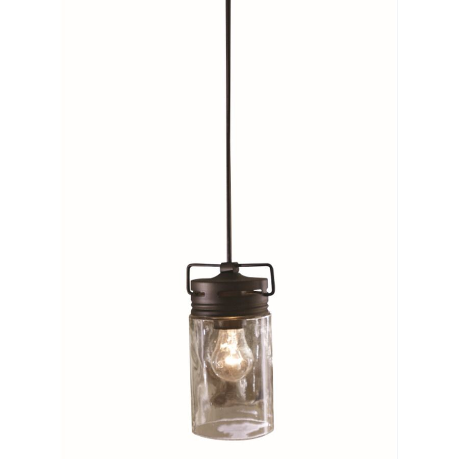 Allen Roth Vallymede 3 7 In W Olde Bronze Mini Pendant Light With Clear Shade Decor Pinterest Lightini
