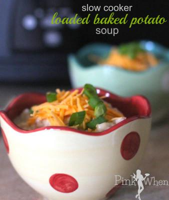 A surprisingly easy delicious slow cooker baked potato soup recipe. meal