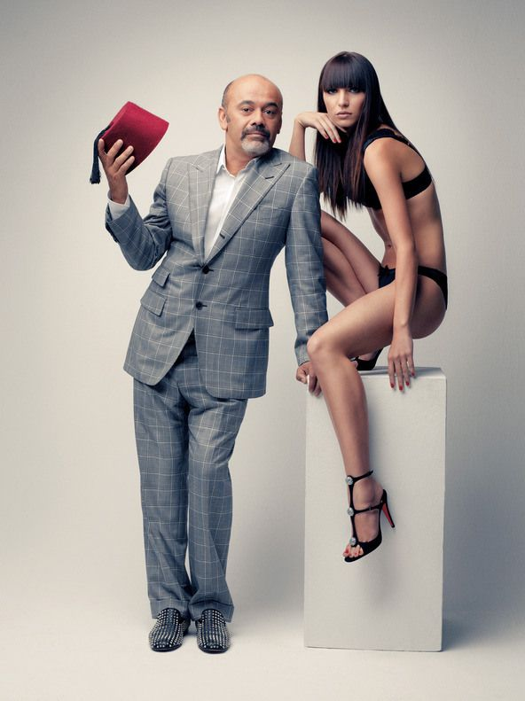 f9ff59f566c Christian Louboutin   Born in Paris in 1963 Christian Louboutin was a  school drop out at 16. He started working at the famous Parisian cabaret  Folies ...