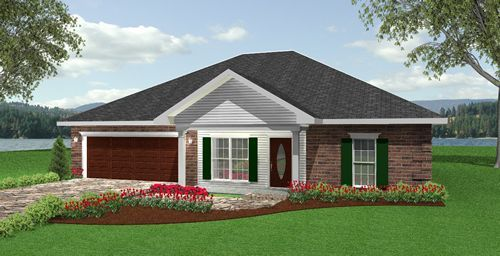 Dp 1499 Hip Roof House Plan Bedrooms 3 Baths 2 Floors 1 Square