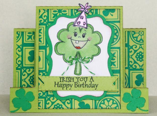 Happy St Patricks Day Birthday Card Birthday Cards Happy St Patricks Day Cards