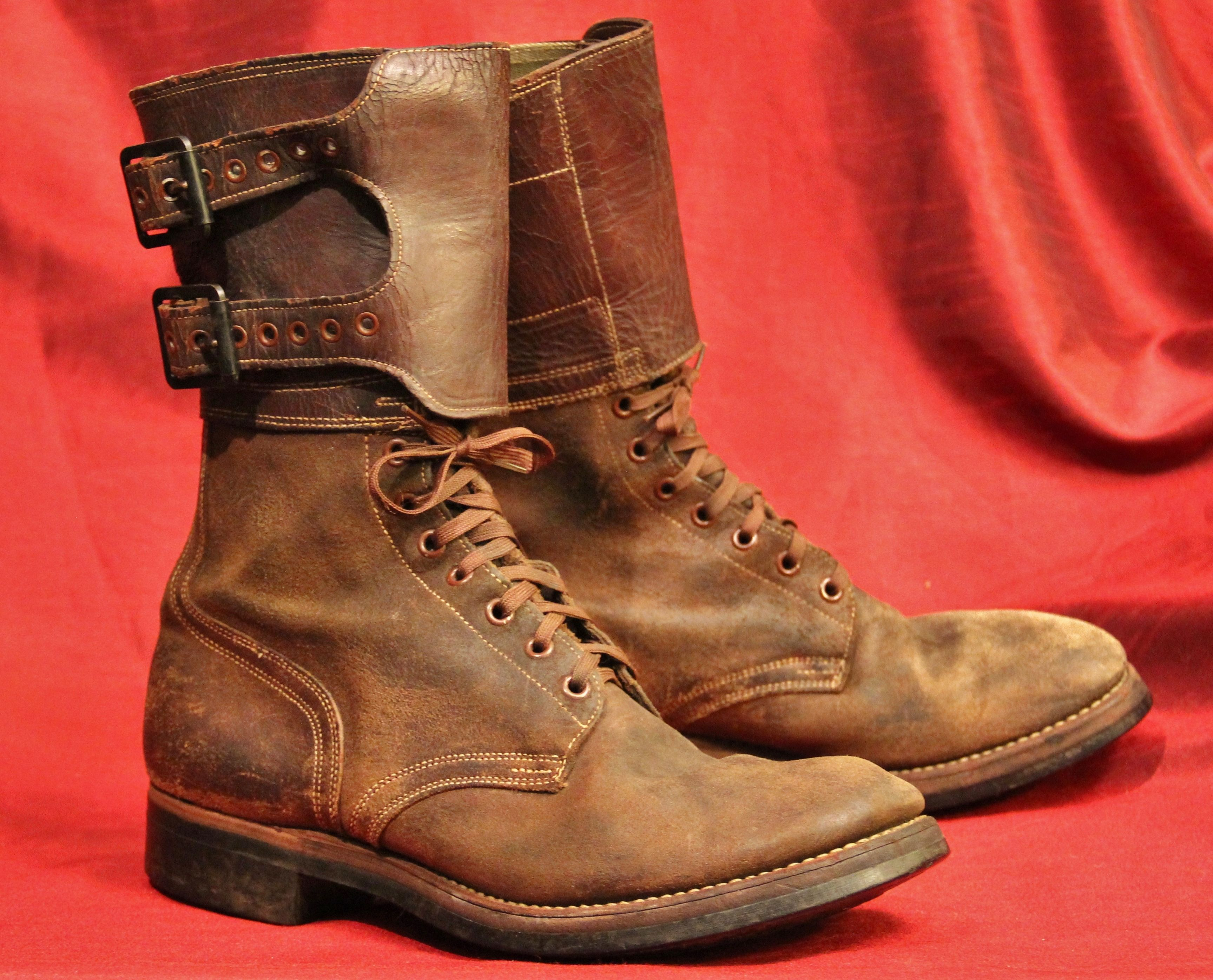 Wwii Us Army M 1943 Combat Boots Double Buckle Combat Boots Style Boots Fashion Boots