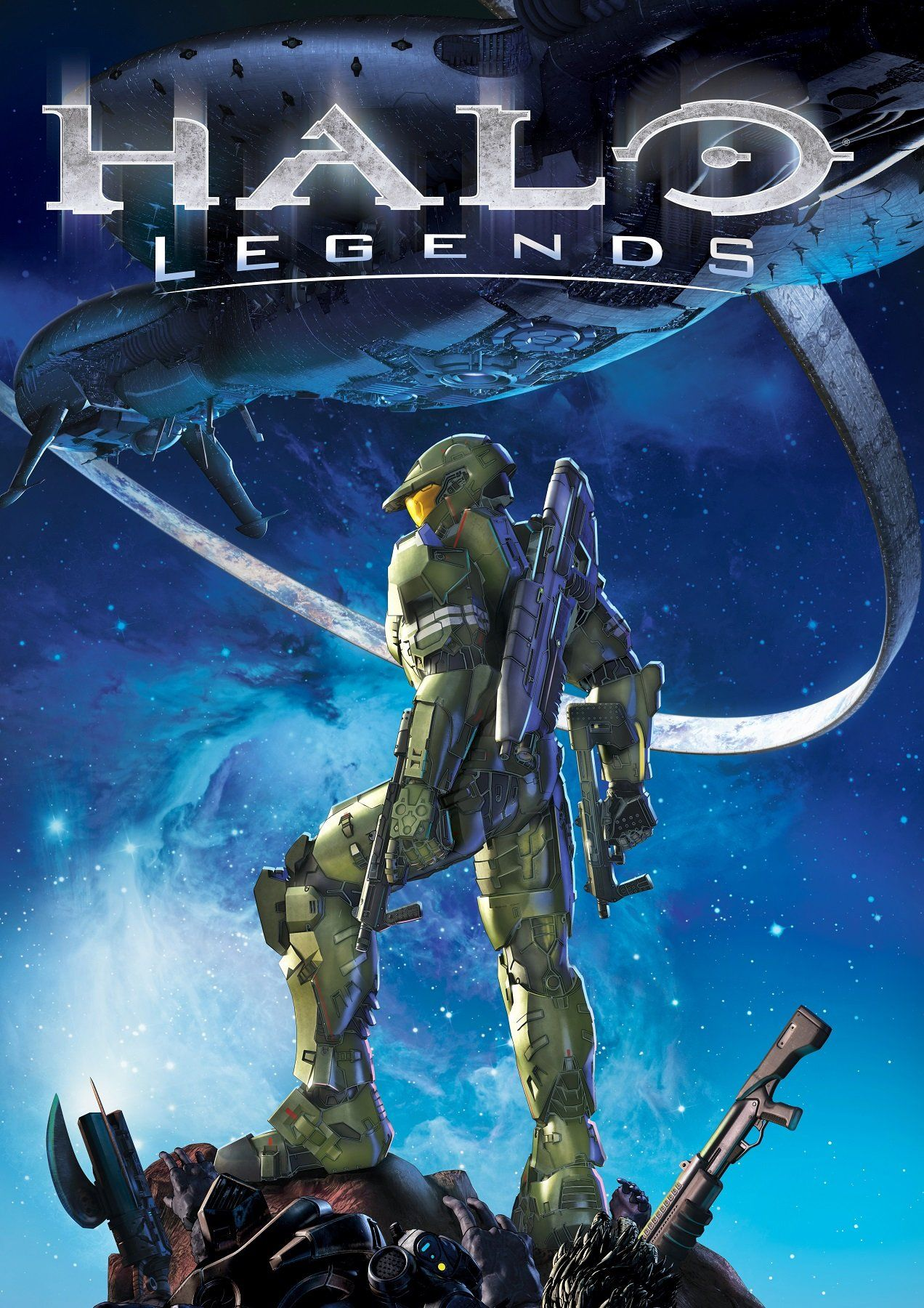 Halo legends poster halo animated movies animation film