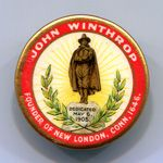 Winthrop Statue Dedication button