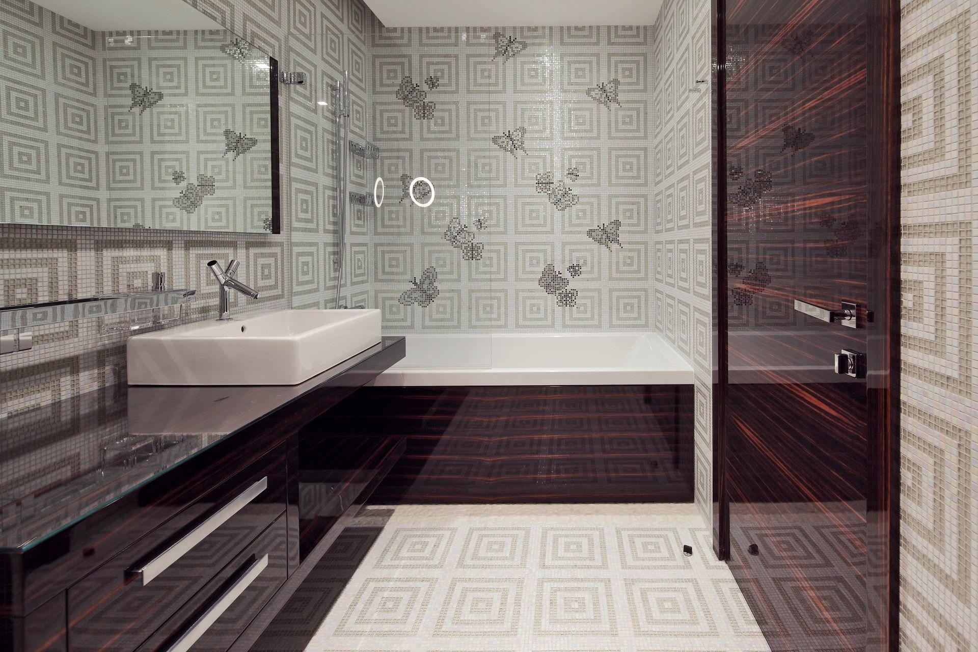 Badezimmer Tapeten Ideen Badezimmer Design Badezimmerfliesen