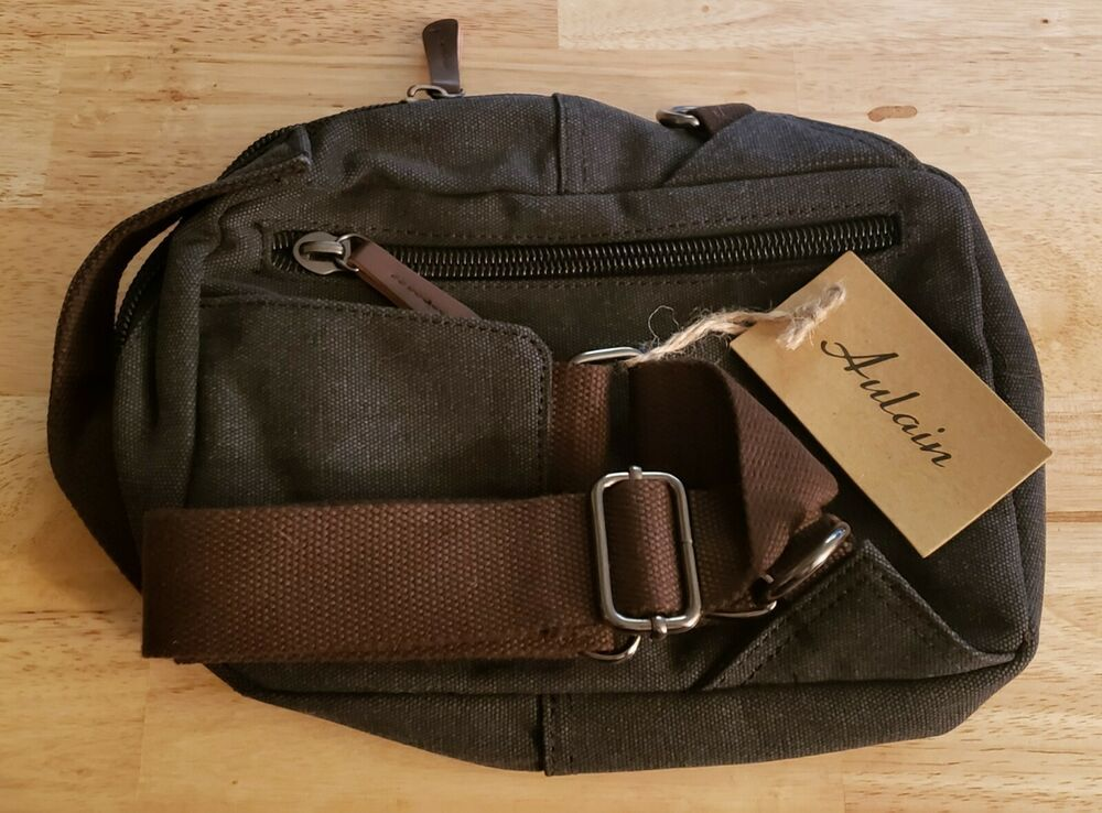 594c5587db34a6 Aulain Canvas Cross Body Travel / Messenger Bag #fashion #clothing #shoes # accessories
