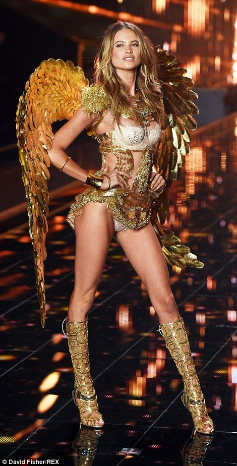 d8536f7783 The greatest catwalk on Earth! Angels Alessandra Ambrosio and Adriana Lima  lead the way at the Victoria s Secret Show as they dazzle in  2m Dream  Angels ...