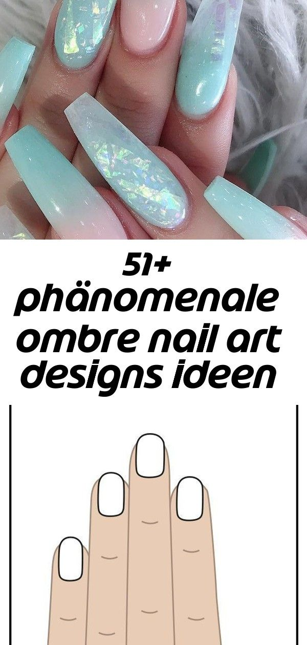 51 phänomenale ombre nail art designs ideen für dieses jahr teil 41  gel   nail 12 51 phänomenale Ombre Nail Art Designs Ideen für dieses Jahr Teil 41...