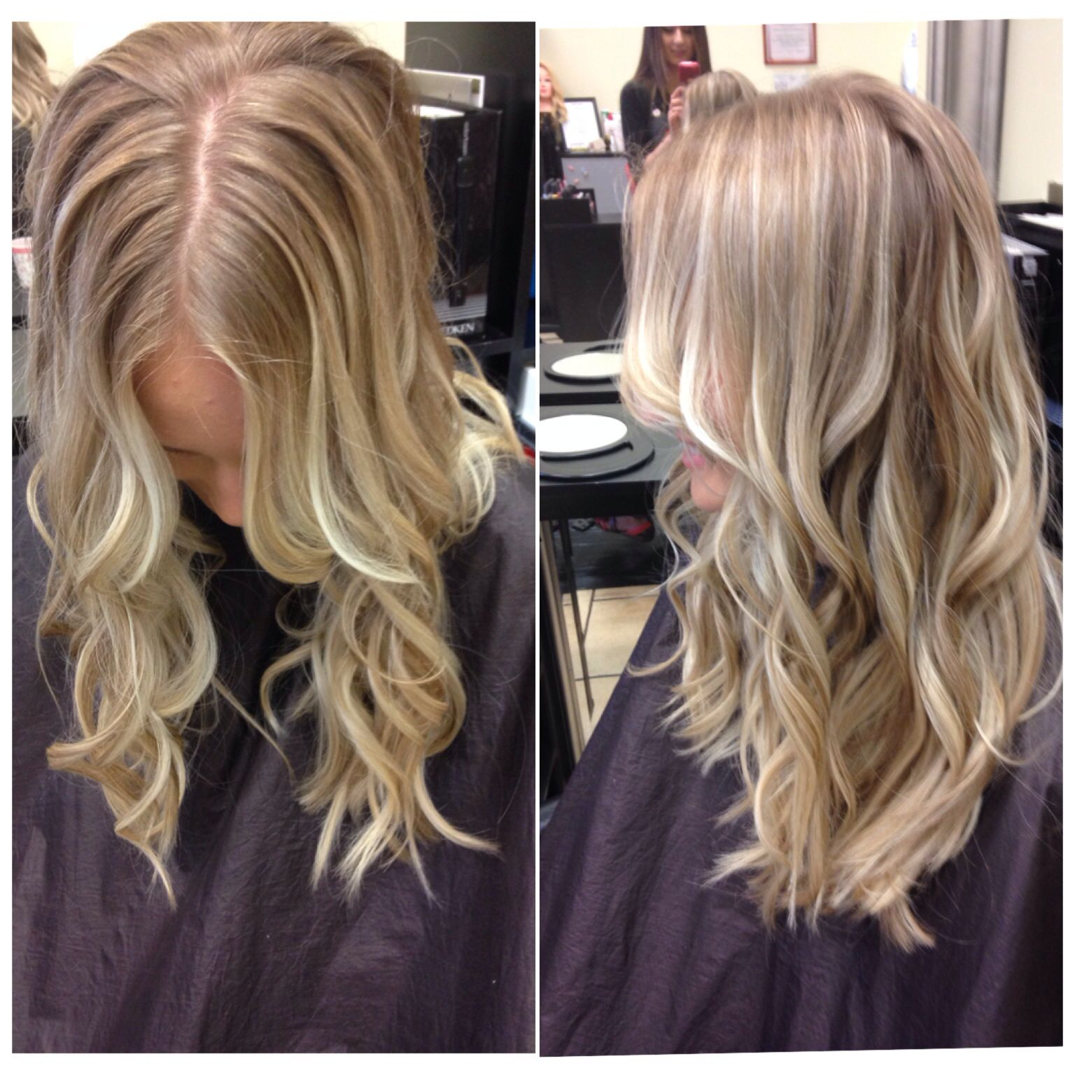 Instead of a root touch up let\u0027s Balayage!