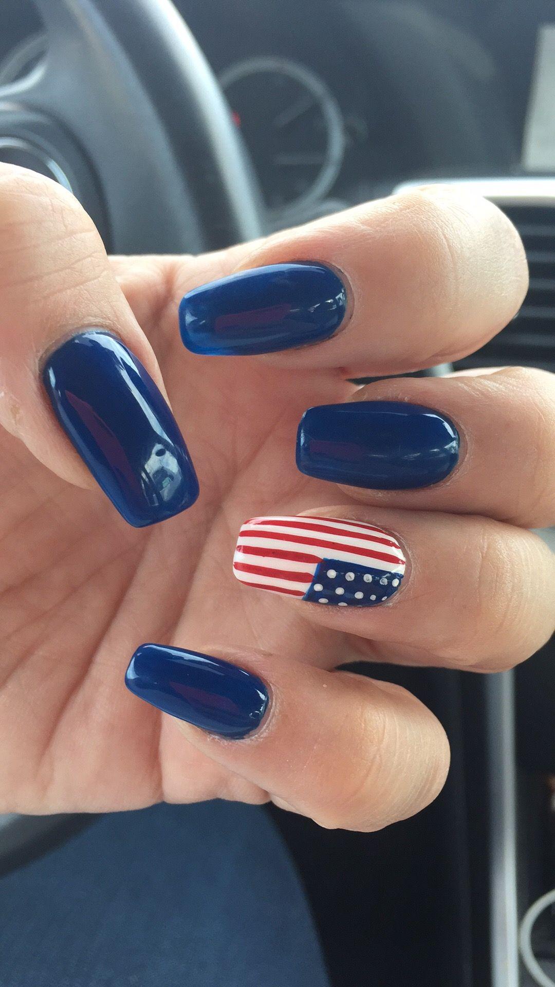 6 Fourth Of July Nail Designs Woman Fashion Nicepricesell Com Fourth Of July Nails 4th Of July Nails Patriotic Nails