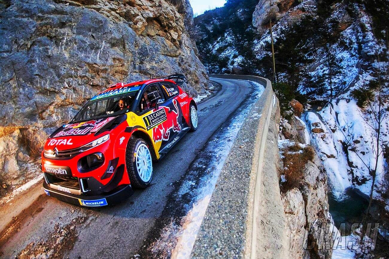 2019 Rallye Monte Carlo Citroen World Rally Team's