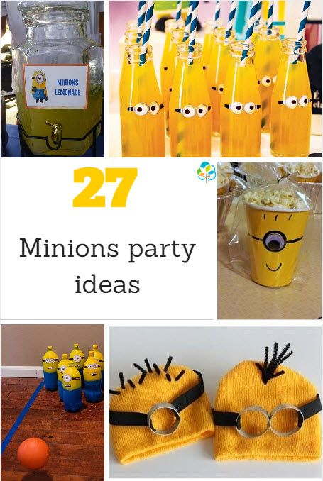 27 minions party ideas from Jac Meldrum on BabyCentre Blog!