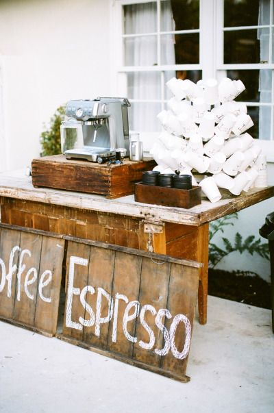 20 ideas for a holiday wedding wedding weddings and for Things in a coffee bar
