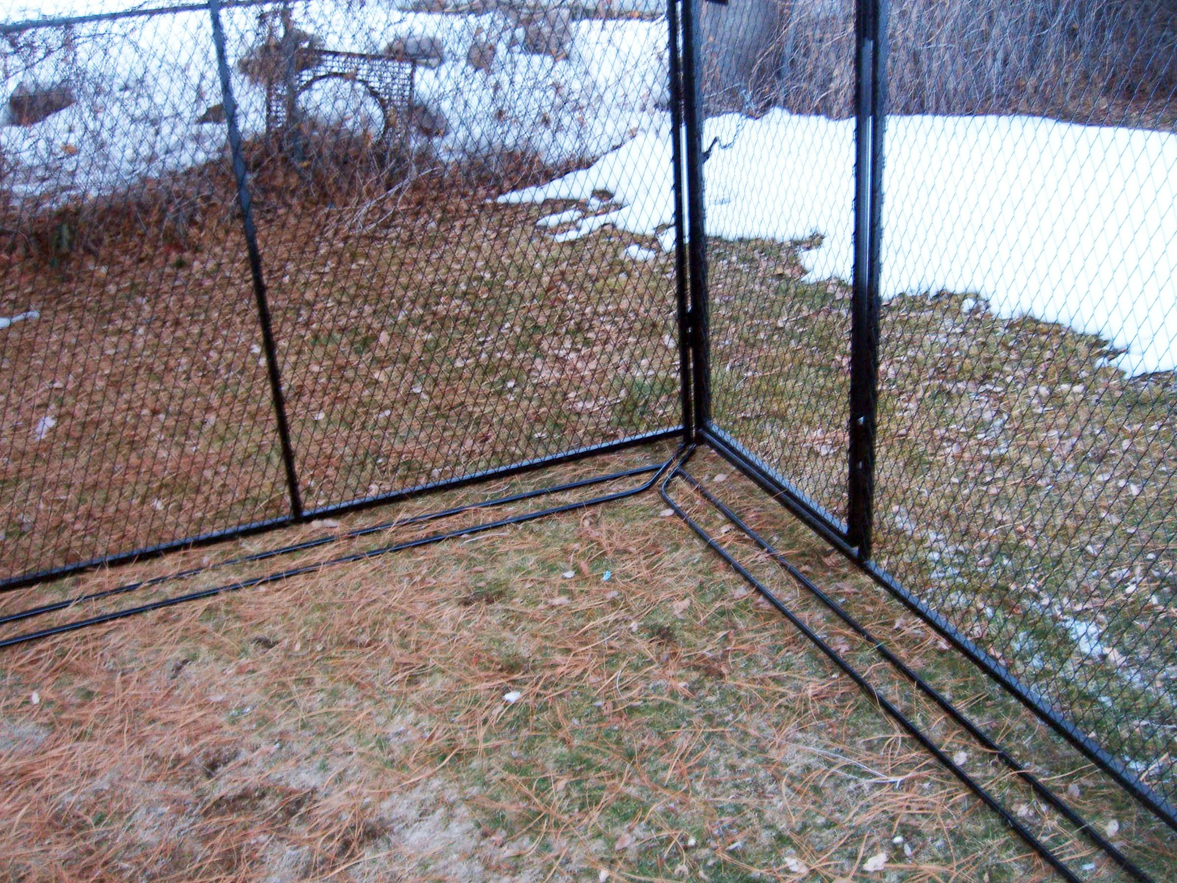 Antidigging bars preventing your dog from digging out