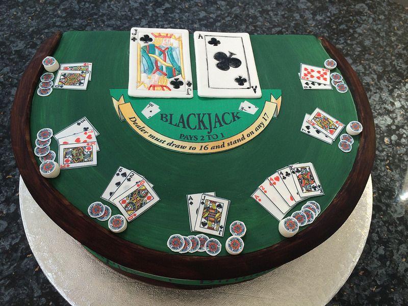 21st Birthday Blackjack Cake | 21st birthday, Blackjack, Birthday