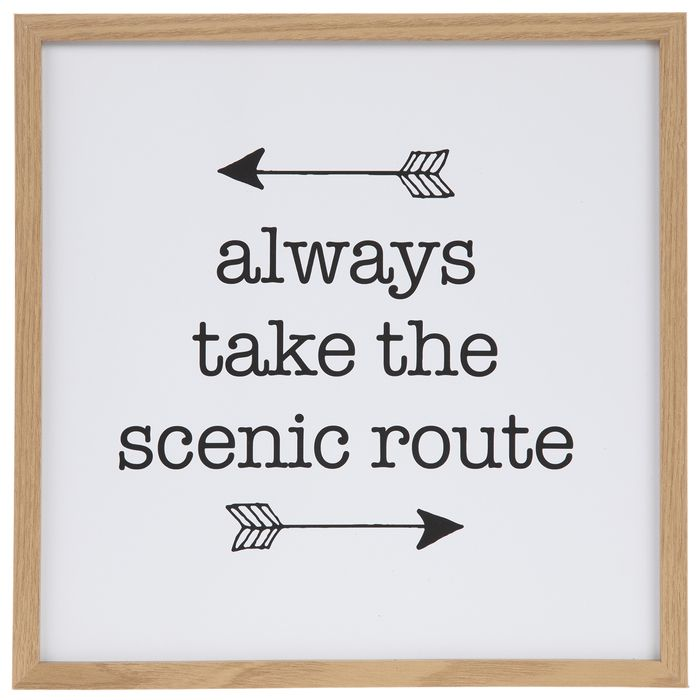 Always Take The Scenic Route Wood Wall Decor | Hobby Lobby | 1818657
