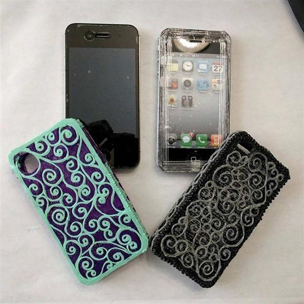 29e80a5b43d 3ders.org - Making a custom phone case with a 3D printing pen | 3D Printer  News & 3D Printing News