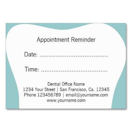 business cards for dentists, business cards for dental clinics ...