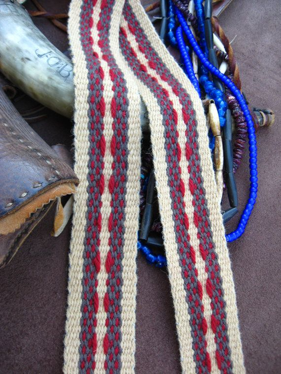 Woven Sash for Historic Costume by iWeaveSashes on Etsy, $46.00