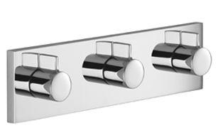Dornbracht 36336985 Symetrics Concealed Valve Module With 3 Valves And Cover Plate Luxury Shower Bathroom Design Luxury Dornbracht