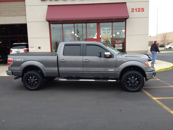 Ecoboost W Leveling Kit And S On Here Ford F Forum