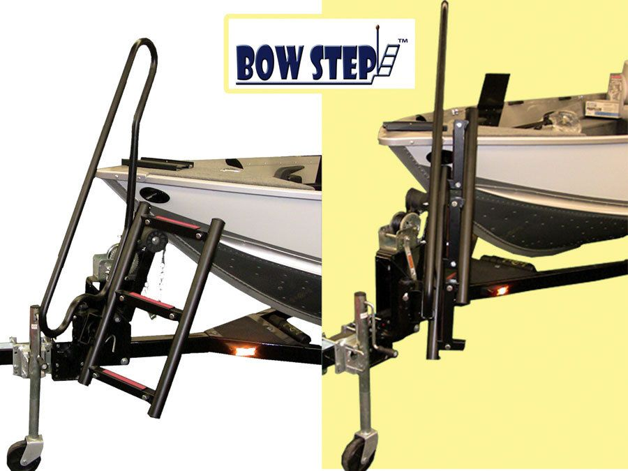 Bow Step For Boat Trailers