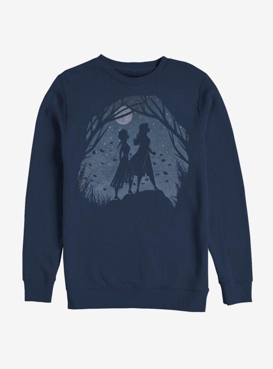 Disney Frozen 2 Scenery Sweatshirt In 2021 Sweatshirts Frozen Outfits Disney Frozen 2 [ 1200 x 889 Pixel ]