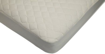 American Baby Company Organic Waterproof Quilted Crib Mattress Pad Cover $32