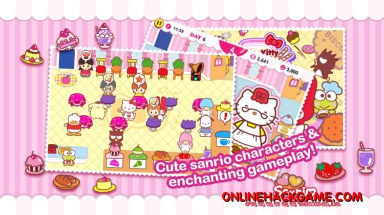 Hello Kitty Cafe Hack Cheats Unlimited Points Kitty Cafe Hello