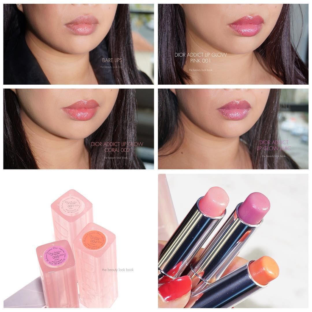8db158bc A look at how all three Dior Addict Lip Glows transform on ...