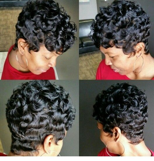 Nice I Like Curls Just Not Stack Curls Lol Short Wavy Hair
