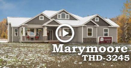 Tour Of Midsize Craftsman House Plan Thd 3245 Farmhouse