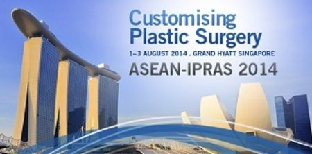 ASEAN-IPRAS 2014 (Customising Plastic Surgery) on Friday August 01, 2014 at 8:15 am to Sunday August 03, 2014 at 5:00 pm. 17th ASEAN Congress of Plastic Surgery in conjunction with 11th International Confederation for Plastic, Reconstructive & Aesthetic Surgery - Asia Pacific Section Congress 2014 (ASEAN-IPRAS). Booking  http://atnd.it/10741-1, Price: 350 - 850, Venue details: Grand Hyatt, Singapore, 10 Scotts Road, Singapore 228211, Singapore