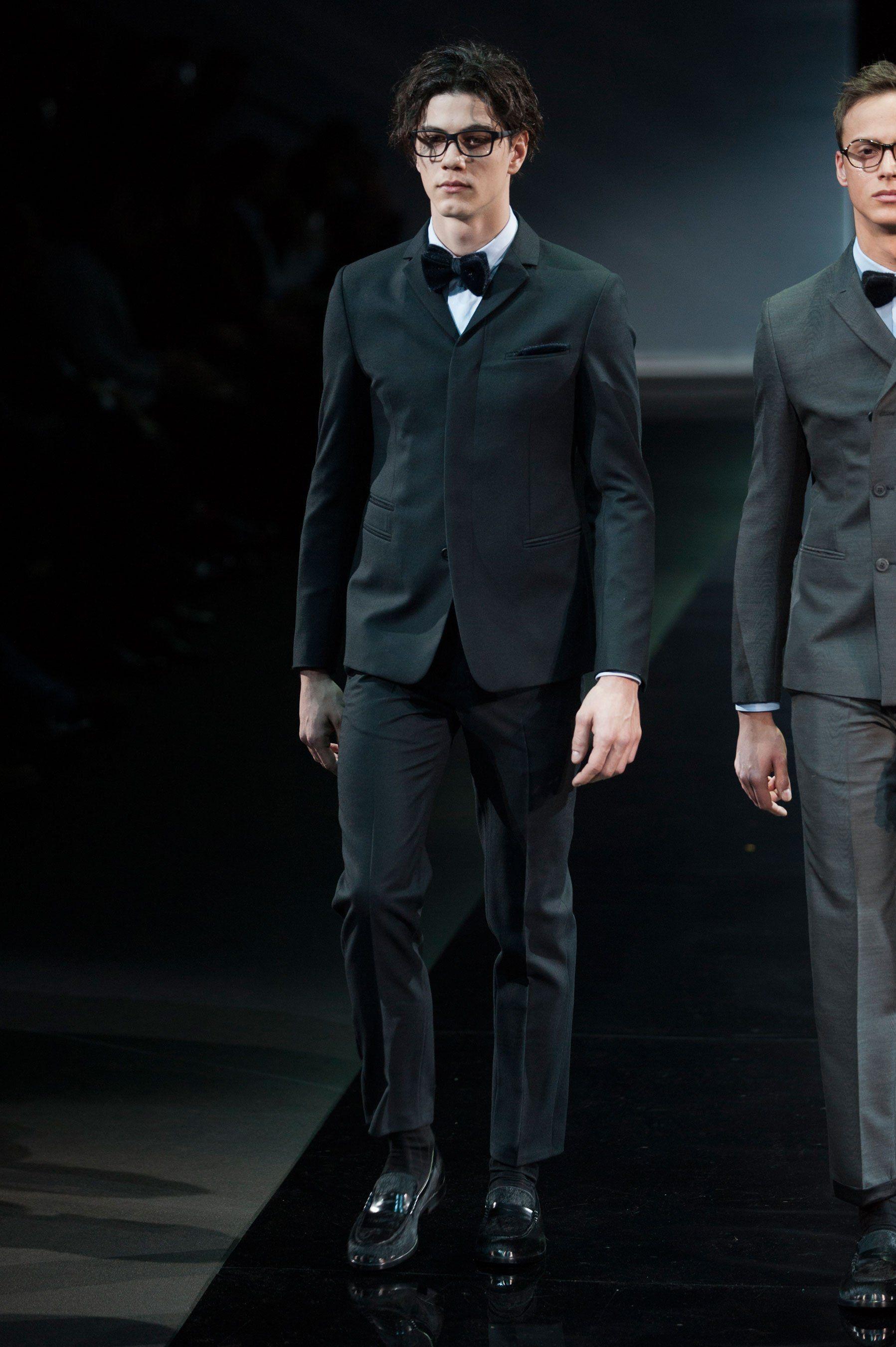 Emporio Armani FallWinter 2014-2015 Collection – Milan Fashion Week Emporio Armani FallWinter 2014-2015 Collection – Milan Fashion Week new pics