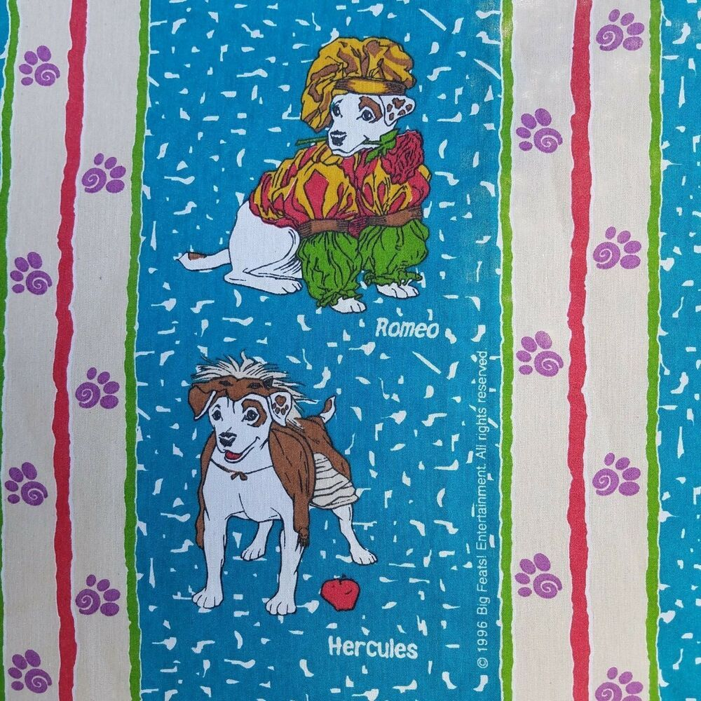 Details About Wishbone The Dog Robin Hood Romeo Hercules Twin Flat